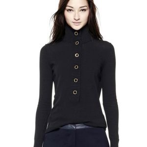 Tory Burch black Giselle sweater